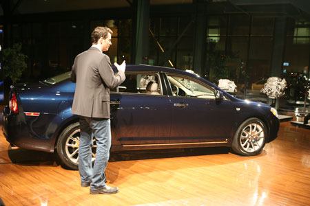2008 Chevy Malibu Designer Tim