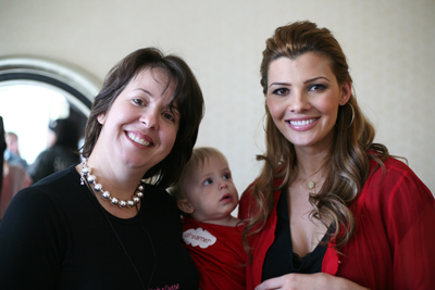 The Baby's new girlfriend, Ali Landry
